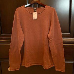 NWT H&M Raw Hem Sweater